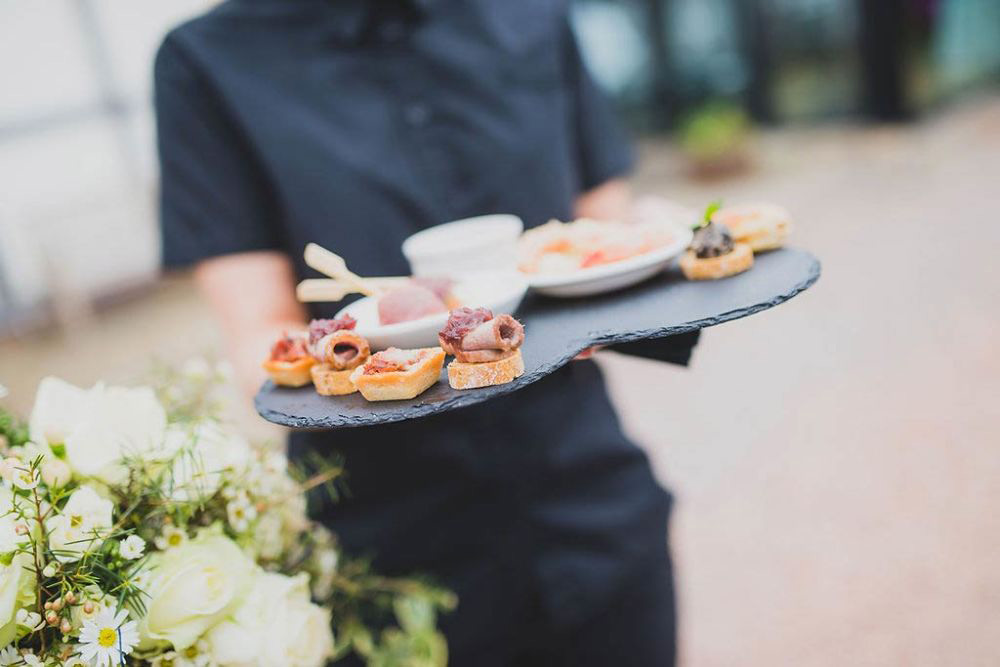 Canapes for the Bride & Groom