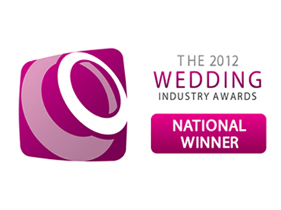 Wedding Industry Awards 2012 - National Winner