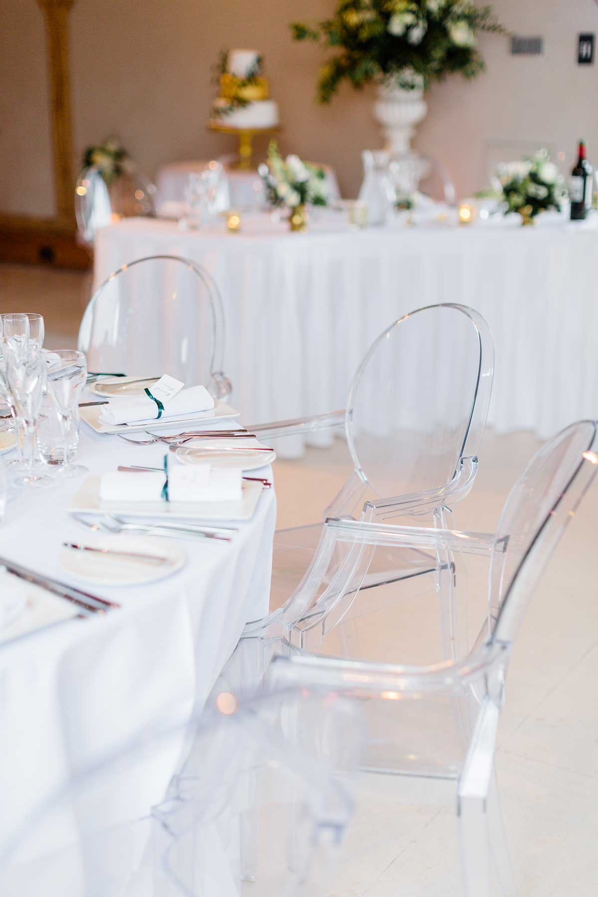 Our ghost chairs are simple and stylish